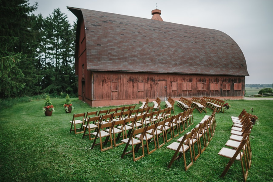 Wedding at Lussier Heritage Center