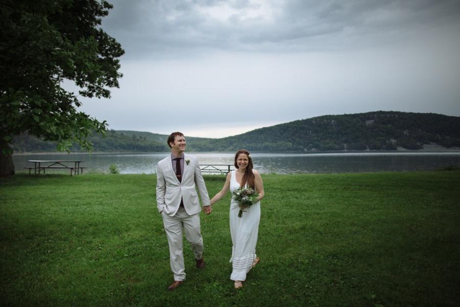 Devils Lake Wedding Story