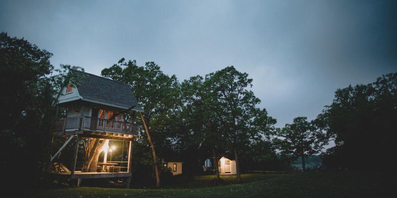 Camp Wandawega Treehouse