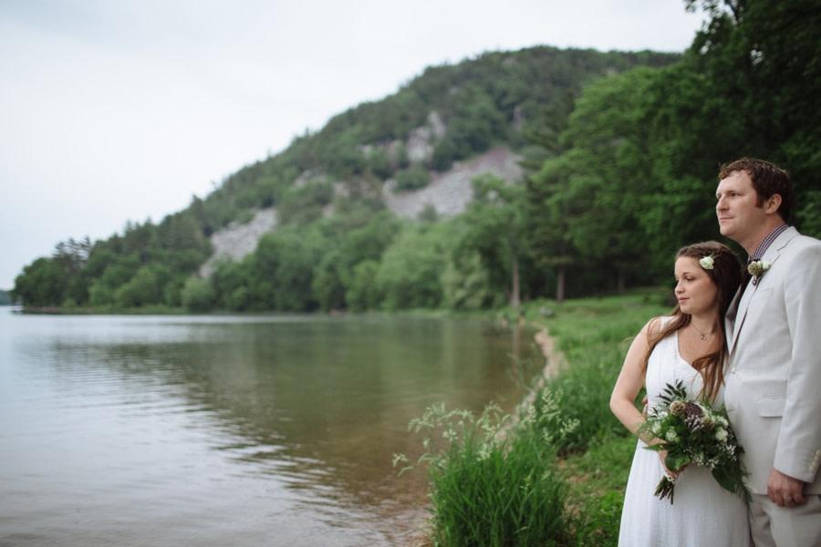 Wedding at Devils Lake Wisconsin