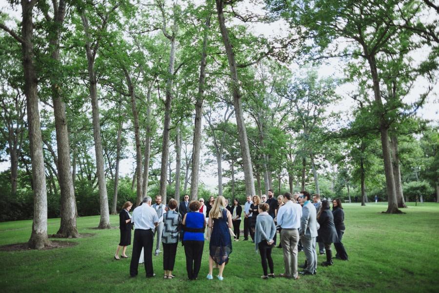 Intimate Wedding in Park