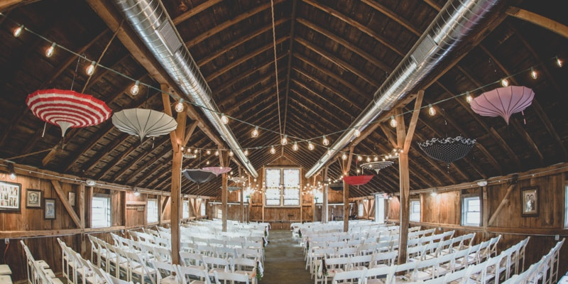 The Barn at Harvest Moon Pond Wedding